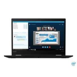 """Lenovo ThinkPad X13 Yoga Ibrido (2 in 1) Nero 33,8 cm (13.3\\"""") 1920 x 1080 Pixel Touch screen Intel® Core™ i7 di decima LENO..."""