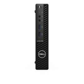 DELL OptiPlex 3080 DDR4-SDRAM i3-10100T MFF Intel® Core™ i3 di decima generazione 8 GB 256 GB SSD Windows 10 Pro Mini PC Nero