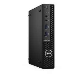 DELL OptiPlex 3080 DDR4-SDRAM i5-10500T MFF Intel® Core™ i5 di decima generazione 8 GB 256 GB SSD Windows 10 Pro Mini PC Nero