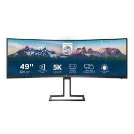 """Philips 498P9 00 monitor piatto per PC 124,5 cm (49"""") 5120 x 1440 Pixel LCD Nero"""