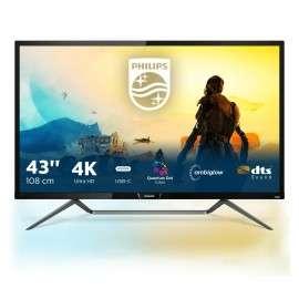 Philips M Line Display 4K HDR con Ambiglow 436M6VBPAB 00