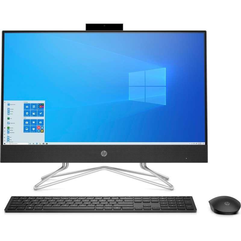 "HP 205 G4 60,5 cm (23.8"") 1920 x 1080 Pixel AMD Ryzen 5 8 GB DDR4-SDRAM 256 GB SSD PC All-in-one Windows 10 Pro Wi-Fi 5"