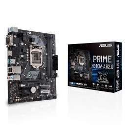 ASUS PRIME H310M-A R2.0 LGA 1151 (Presa H4) Micro ATX Intel® H310 ASUS 99,00€